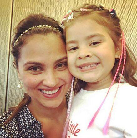 Lara Dutta, Lara Dutta daughter, Saira Bhupathi, Lara Dutta kid, bollywood