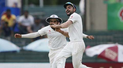 Live Cricket Score, India vs Sri Lanka, 3rd Test, Day 5: India in search of wickets against Sri Lanka