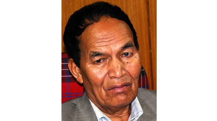 Till last week, he was fighting for a separate state for the Khasi and Jaintia tribes.