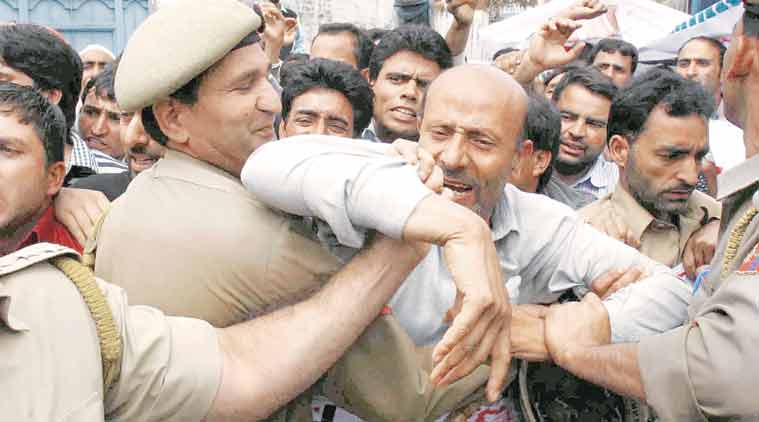 J&K MLA, J&K MLA assault, Sheikh Abdul Rashid, J&K MLA privilege motion, J&K news, india news, latest news, indian express