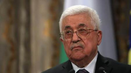 mahmoud abbas, Palestinian President Mahmoud Abbas, palestine-US, donald trump, trump, jerusalem, recognition of israel, israel recognition, world news, indian express news