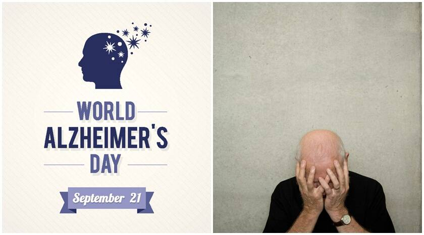 alzheimer's day Alzheimer's disease synonyms: alzheimer disease, alzheimer's: comparison of a normal aged brain (left) and the brain of a person with alzheimer's (right.
