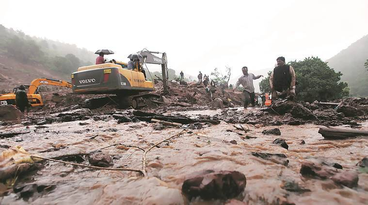 malin rehabilitation, CREDAI, malin landslide, Geological Survey of India, pune news, indian express