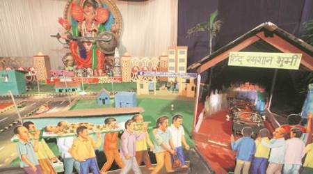 Ganesh Chaturthi Celebrations- Message of this Ganesh mandal: do not drink