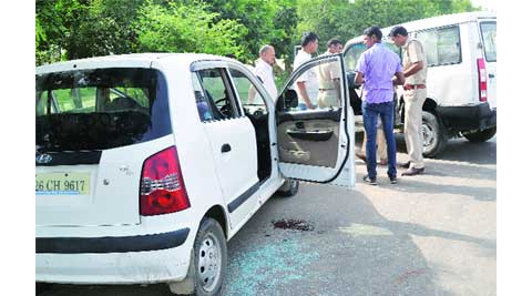 32-year-old shot by Gurgaon police in 'self-defence',injured