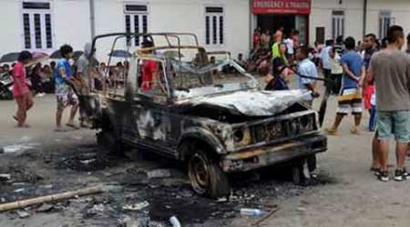 Manipur violence: Toll up to eight, three killed in police firing