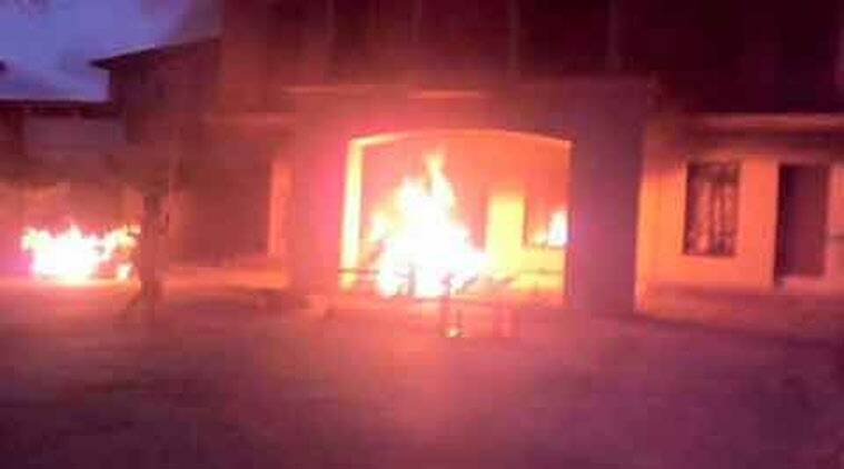Manipur violence, manipur houses, manipur mla houses, houses torched manipur, manipur minister, manipur news, imphal news, india news