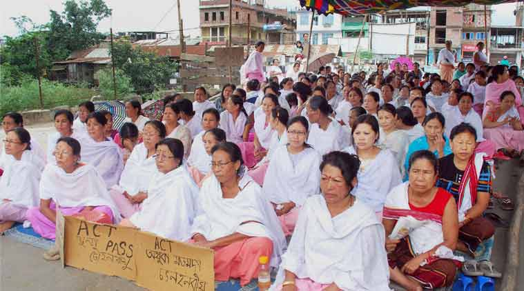 manipur violence, ilp protest in manipur, Manipur Inner Line Permit agitation