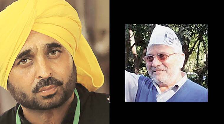 Dharamvira Gandhi, Bhagwant Mann, AAP, Aam Aadmi Party, Patiala byelection, Punjab news