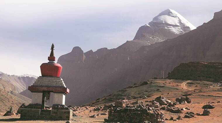A view of Mount Kailash