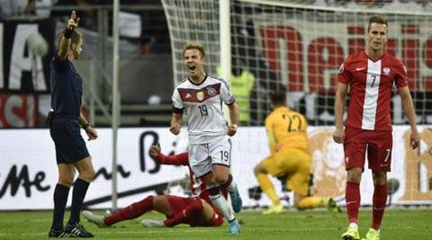 Euro 2016 qualifiers: Germany go top after 3-1 win over Poland