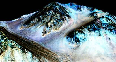 NASA Mars, Pictures of Mars Water, NASA Mars water discovery, Mars Water, NASA, Google Doodle Mars, Google Doodle Mars water, Google Doodle on Mars water, Mars, red planet, Mars life, technology, science and technology, technology news