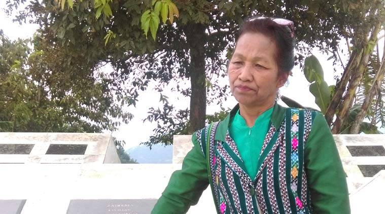 The Martyrs' Graveyard in Aizawl