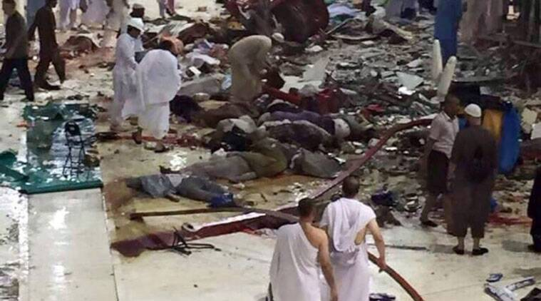 mecca mosque, mecca tragedy, saudi mosque, hyderabad couple, saudi arabia, mecca news, mecca mosque tragedy, mosque tragedy, mosque