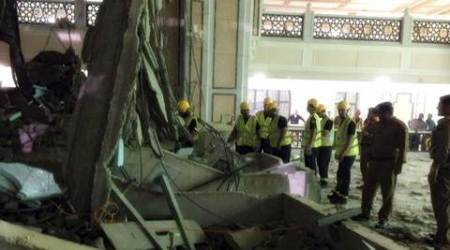 mecca, makkah, mecca grand mosque, Masjid al-Haram, saudi Arabia, Indians in mecca mosque accidents, mecca accident, hajj pilgrims, india news, Ministry of External Affairs, latest news