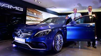 New Merc on the block: Mercedes-Benz India launches Mercedes-AMG C63 S