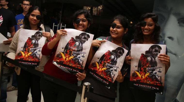 V In Line Fans : 'metal gear solid v launched in india fans line up to