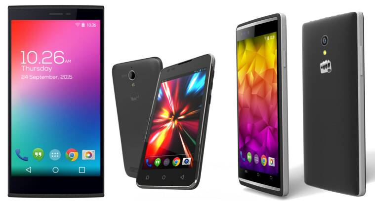 Micromax Expands Canvas Range; Launches Blaze 4G, Fire 4G and Play 4G