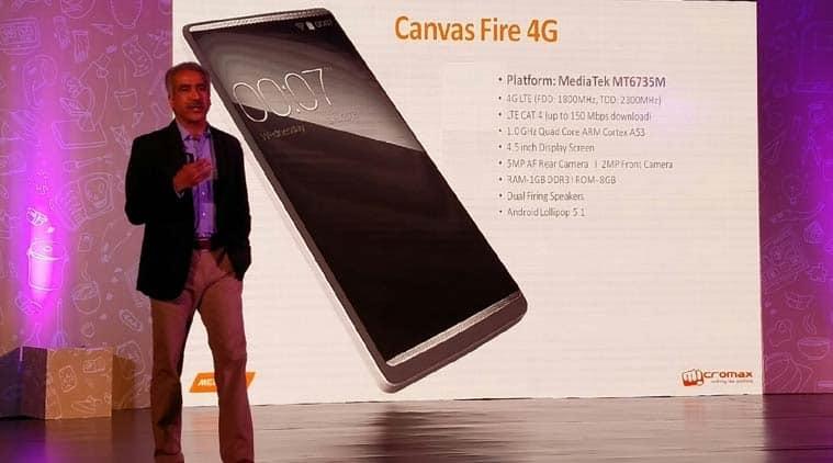 Micromax-MediaTek partnership will be big 4G push with sub