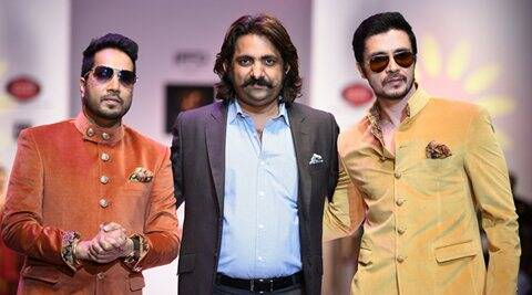 Mika Singh, Darshan Kumaar walk for India Runway Week
