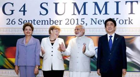 narendra modi, Modi UNSC, Modi united nations, Modi security council, Modi G4 summit, G4 summit UNSC, G4 summit modi, modi news, india news