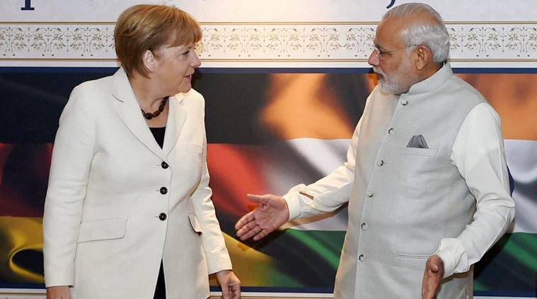 angela merkel, german chancellor, merkel india visit, angela merkel india tour, Merkel Modi meeting, india germany relations, india news, germany news, latest news