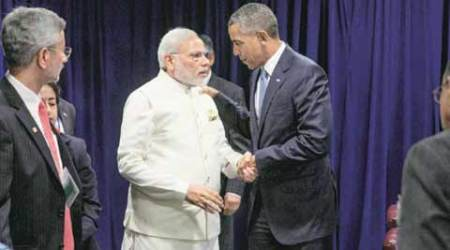india, US, india us, india us relations, bilateral ties, obama, narendra modi, rajnath singh, us polls, parrikar, carter, parrikar carter, rajnath singh john kerry, indo us dialogue, indian express news