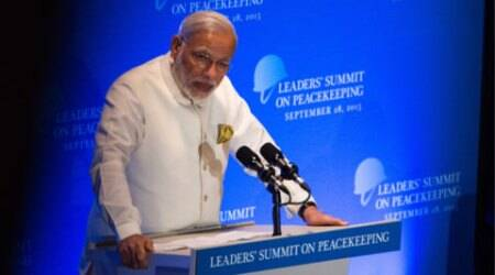 Success of peacekeeping depends not on weapons but on UN's moral force: PM Modi