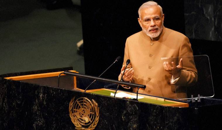 Narendra Modi, UN General Assembly, Narendra Modi UN Summit, Modi UN General Assembly, PM Modi UN Summit, Modi climate justice, Modi poverty, Narendra Modi UN, Narendra modi poverty, Narendra Modi climate, Modi UNSECSO, World news, Modi news, UN Summit news