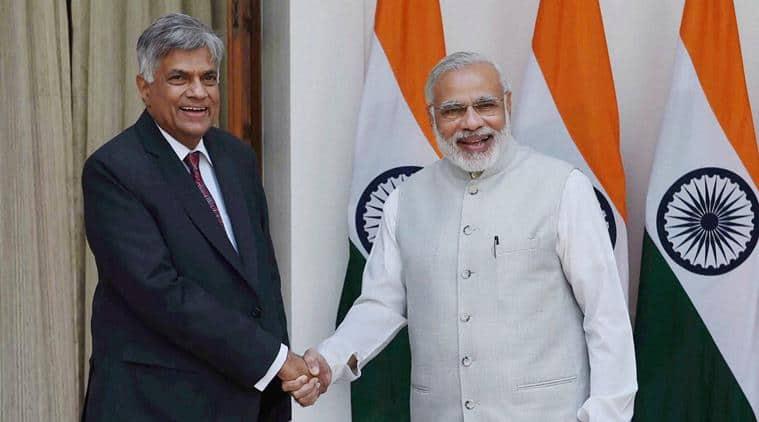 Ranil Wickremesinghe,Ranil Wickremesinghe sri lanka prime minister, Sagarmala, sagarmala project India, sagarmala Indian ocean, Indian ocean, India news