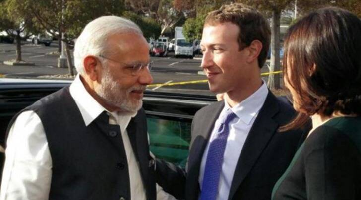 Narendra Modi, Modi Zuckerberg, Facebook town hall live, zuckerberg modi, Modi Facebook townhall live, facebook narendra modi, narendra modi news, india news, facebook news, Modi Facebook Townhall, Modi in Silicon Valley, PM Modi in Silicon Valley, PM Modi on Facebook Wall, Narendra Modi message, Mark Zuckerberg, technology, technology news