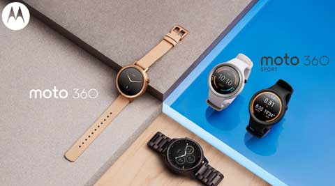 Motorola Moto 360 (2nd gen) announced; Moto 360 Sport also revealed