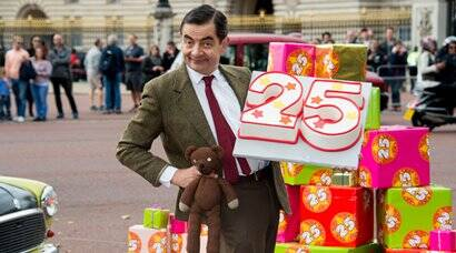 Rowan Atkinson celebrates 25th anniversary of Mr Bean