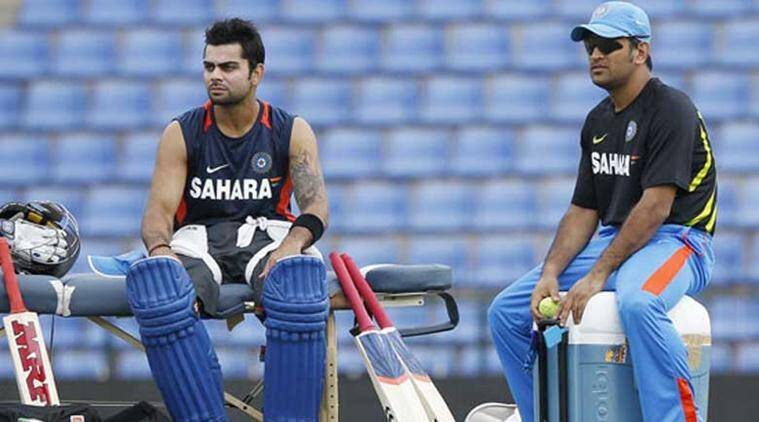 VIDEO: MS Dhoni bowls to Virat Kohli in the nets | The Indian Express