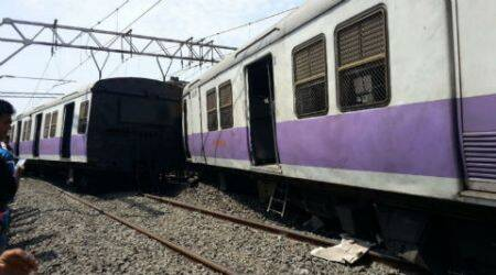 Derailment Near Vile Parle: Train goes off track, services hit