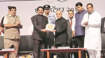 President Pranab Mukherjee, Pranab, CM Devendra Fadnavis, Fadnavis govt, Nagpur municipal body, Nagpur municipal body anniversary, mumbai news, indian express