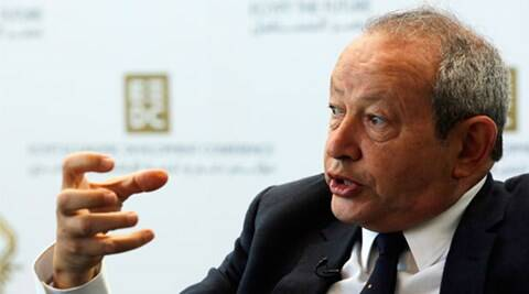 Egypt billionare Naguib Sawiris offers to buy Mediterranean island to help ayslum-seeking refugees
