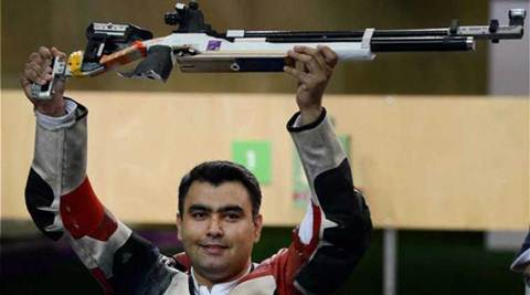 Gagan Narang ascends to top spot in Asian rankings