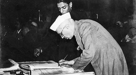 indian national congress, congress, Jawaharlal Nehru, congress foundation day, congress journal Jawaharlal Nehru, congress journal blames nehru, nehru kashmir policy, sadar patel, Sardar Vallabhbhai Patel, india news, latest news,