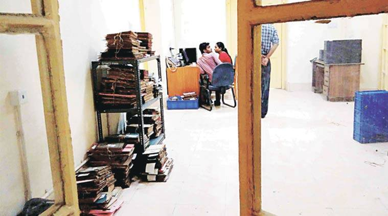The Netaji files stacked at Writers' Buildings. (Express Photo by: Subham Dutta)