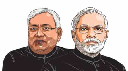 The 5 cards Nitish Kumar sees in Narendra Modi's hand, the 4 he holds in his