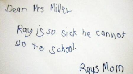 10 hilarious hand-written notes by students (and their moms)