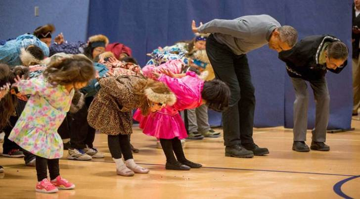 barack obama, obama dance, obama alaska, obama dance children, US news, barack obama news, obama dance alaska, obama dance video