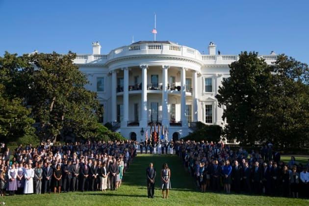 World Trade Center, September 11, Barack obama, Michelle Obama, 9/11 attack, 9/11 attack Anniversary, United States, United Nations, 9/11 attacks Tribute, moment of Silence, World Trade Center Attack, 9/11 Terrorist attack