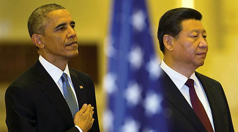 US President Barack Obama, left, with his Chinese counterpart Xi Jinping. (Source: AP photo/file)