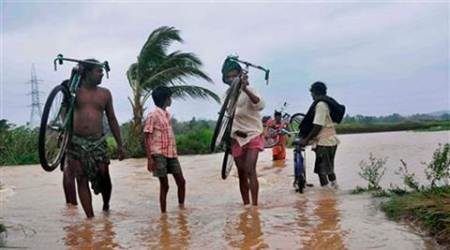 Odisha flash flood toll rises to two; 25,000 people hit