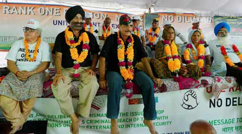 OROP protests: Stand-off continues, veterans threaten to intensify stir
