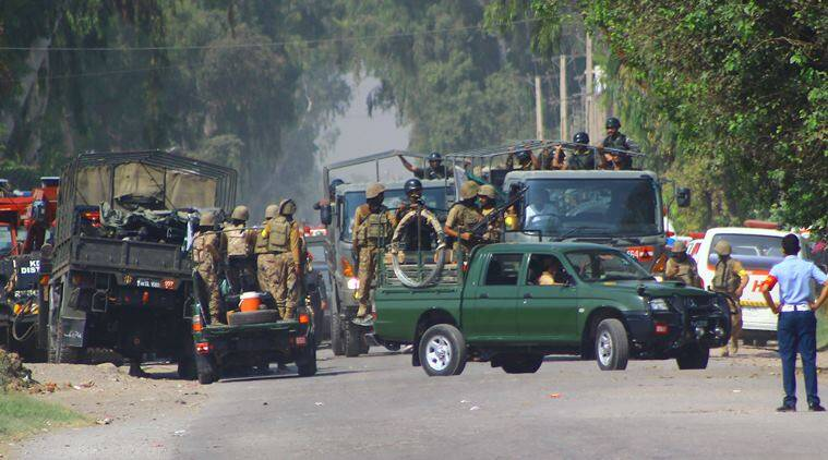 Pakistan arrests 28 suspects in connection with Taliban attack on air force base