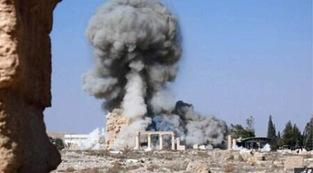 palmyra, temple of bel, islamic state, united nations, palmyra islamic state, islamic state palmyra, isis palmyra tmeple, palmyra heritage sites, heritage sites palmyra, palmyra destruction, islamic state news, isis news, isis, isil, india news