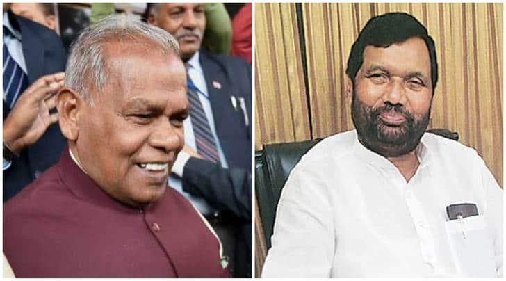 bihar elections, jitan ram manjhi, ram vilas paswan, BJP, BJP news, manjhi seats, paswan seats, bihar polls
